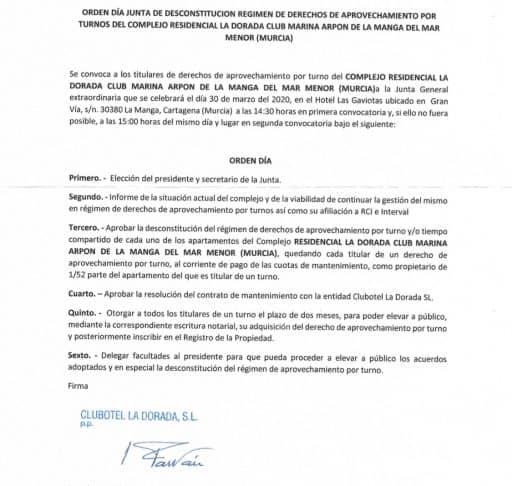 marina arpon carta de comunidad desconstitución regimen